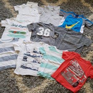 Bundle lot of 3T boy shirts